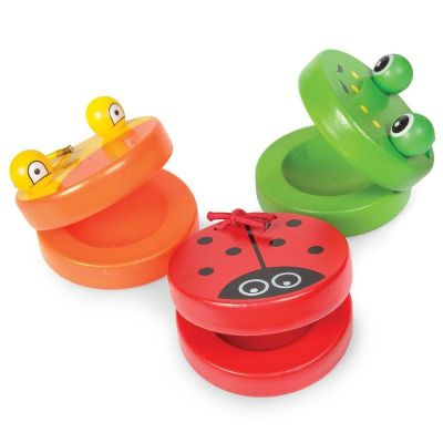 Animal Castanets,baby musical toys